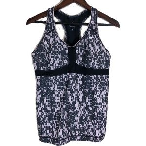 NIKE Dri Fit camouflage tank top with build in bra
